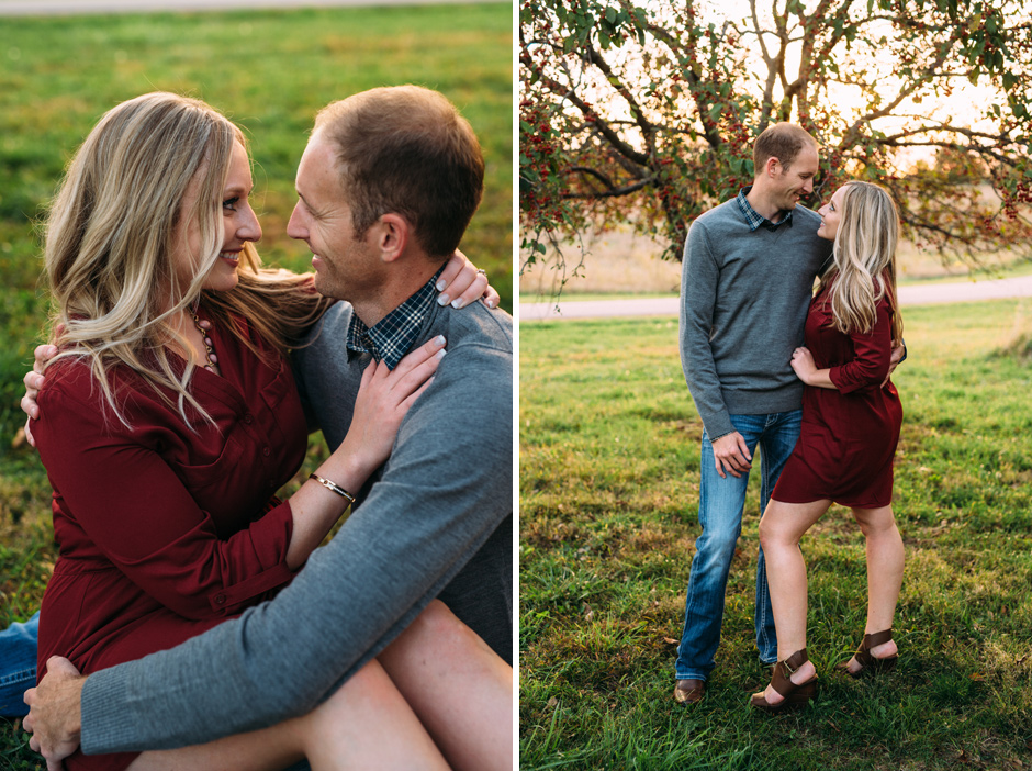 melissa and jason - west des moines engagement