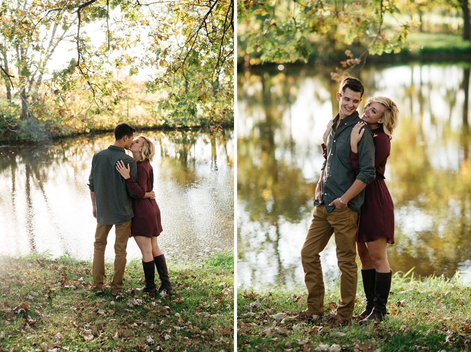 Paula and Derek's beautiful autumn engagement