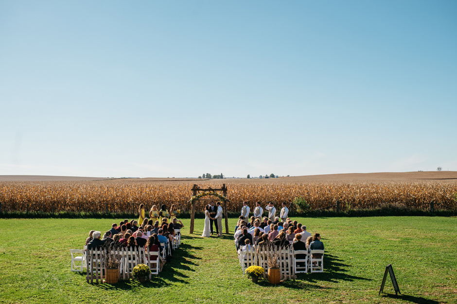 Ashley and Chad Maquoketa Iowa Wedding