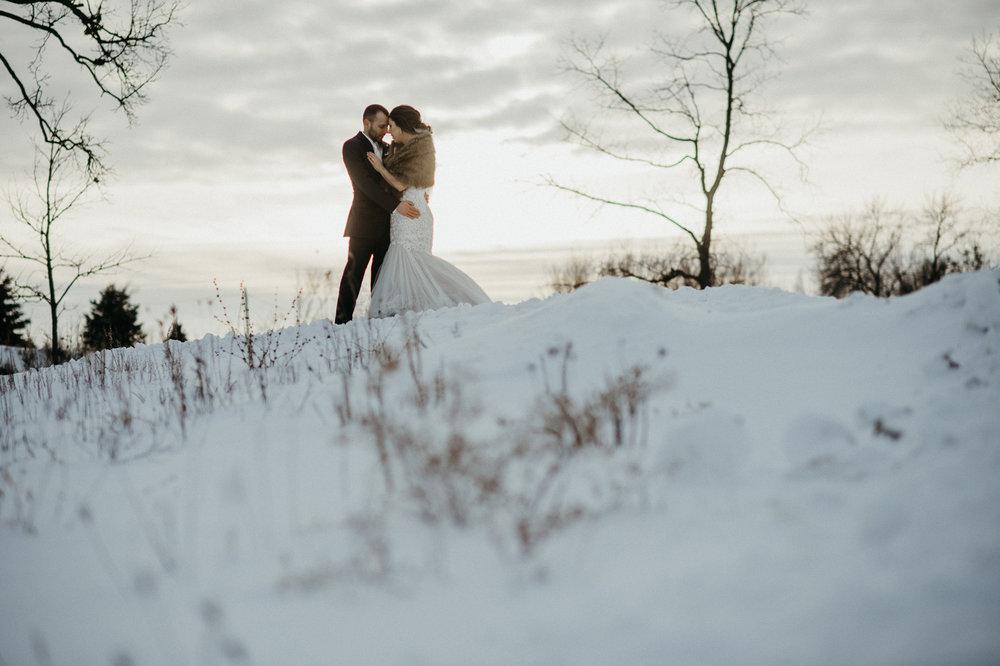Austin and Nicole's Red Acre Barn Wedding | Iowa Wedding Photographer Brian Davis