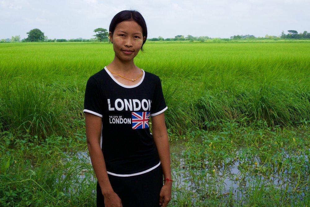 Ma Htet (Paddy farmer) -