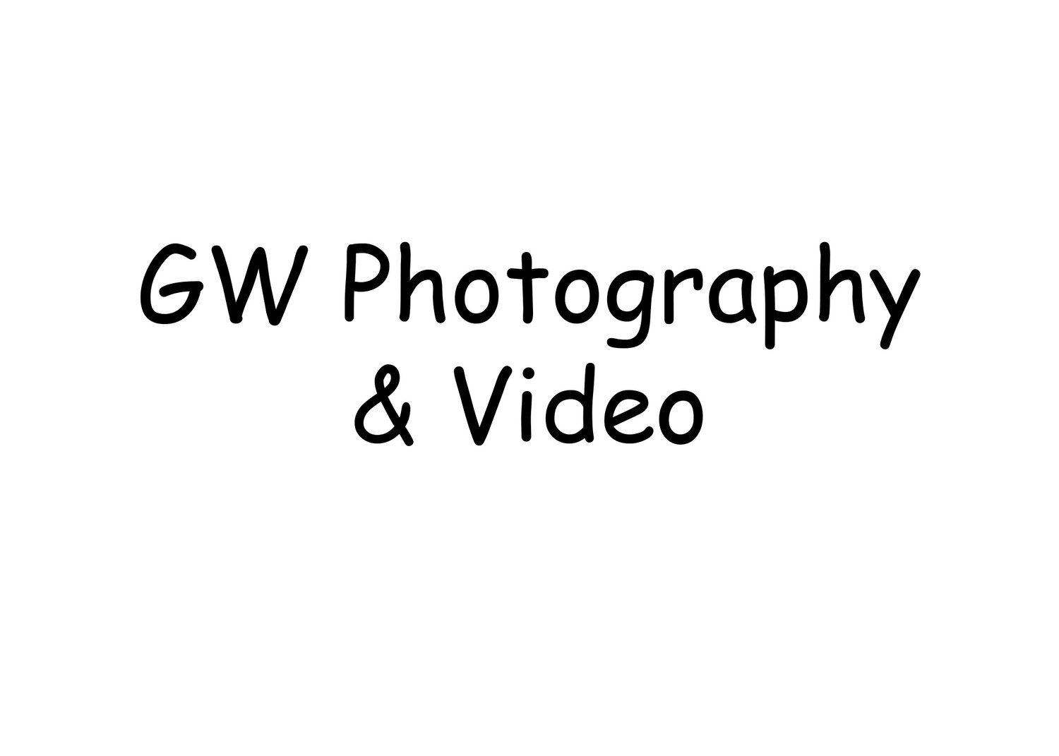 GW Photography & Video
