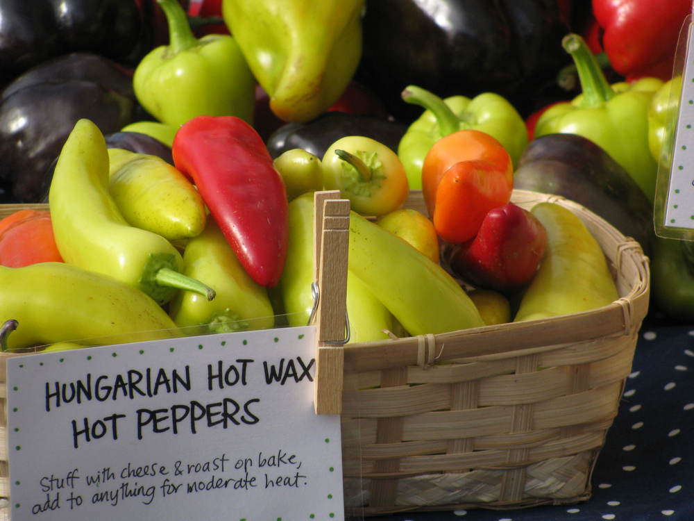 Peppers, Hungarian Hot Wax