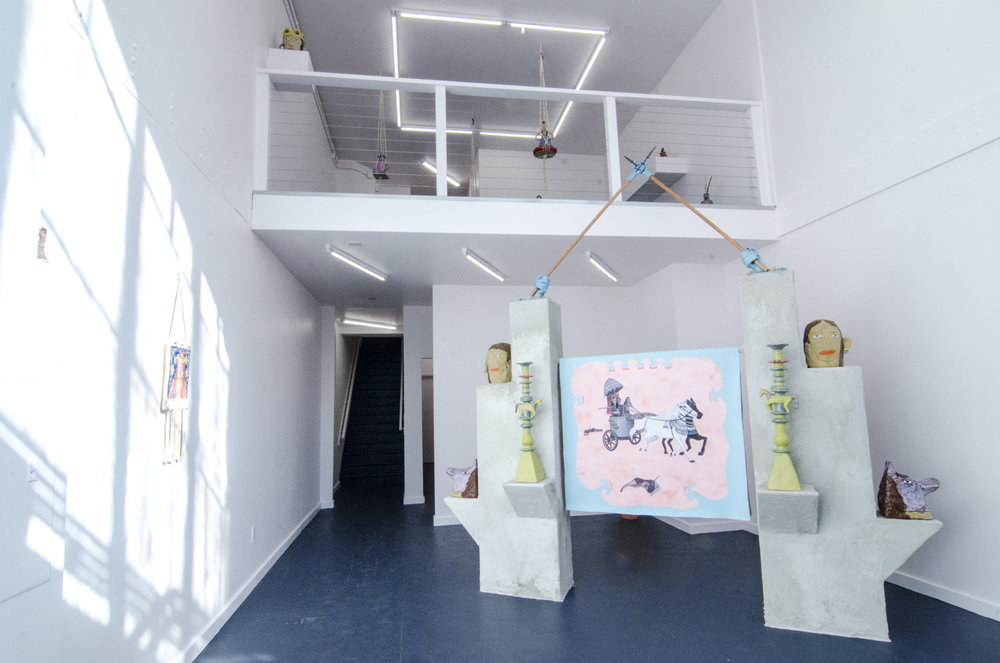 Shamiram's Delight  (exhibition view), 2017