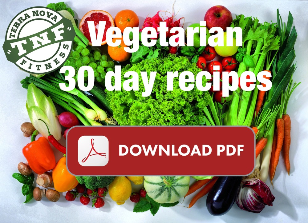 Vegetarian recipes 30 day guide terra nova fitness 650 359 9002 vegetarians need love too fill out and download your free 30 day recipe pdf book forumfinder Image collections