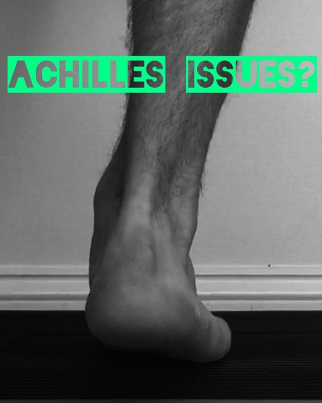 Dealing with Achilles problems?  Don't miss the the latest blog where I cover the most common mistakes and what you can do to get on the road to recovery.  Link in profile  #running #triathlon #achilles #rehab #chiropractic