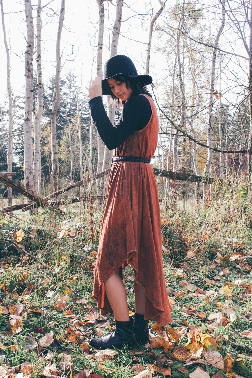 How to style your summer dress for fall -- Space Nineteen 98