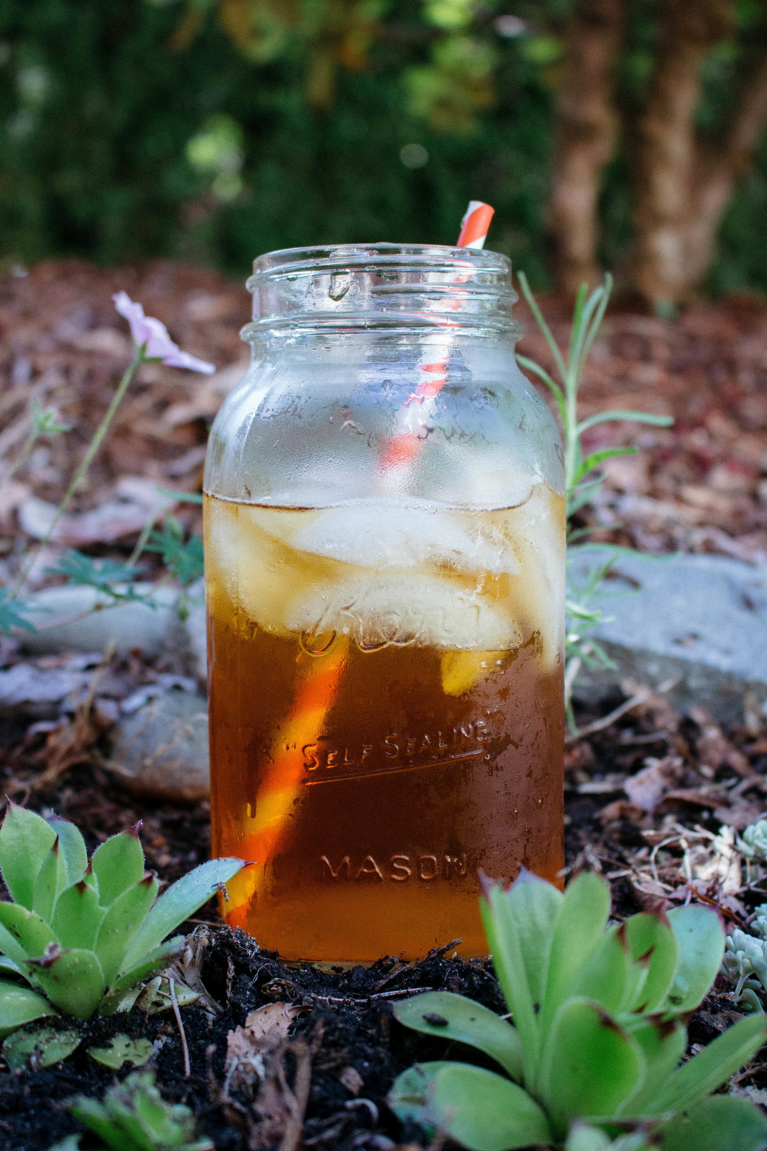 Naturally Sweetened Iced Tea