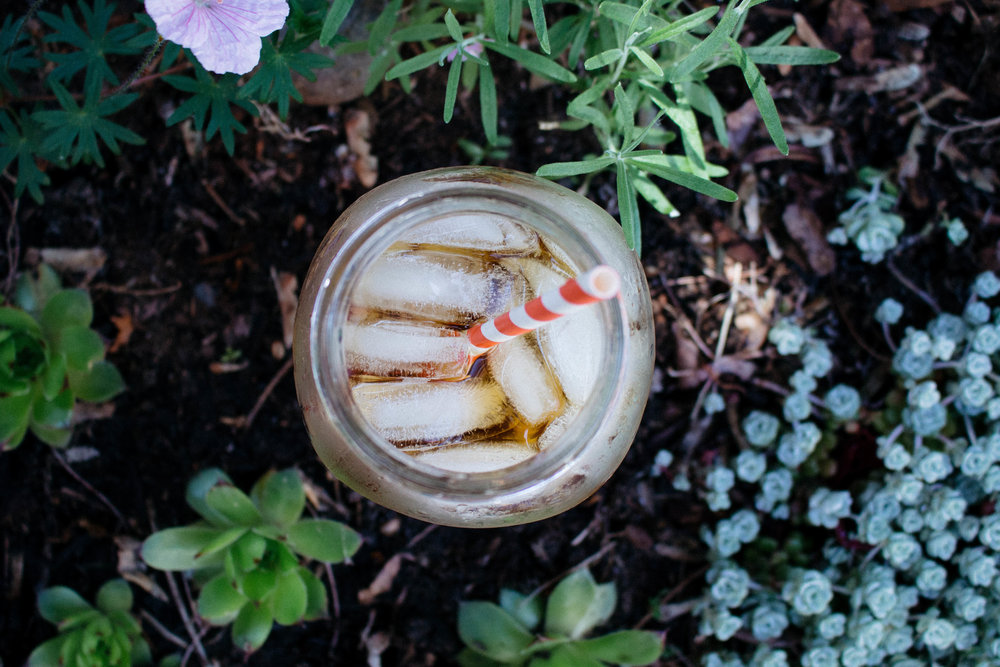 Naturally Sweetened Iced Tea -- Space Diaries