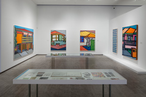 11 In good company: Howard Arkley at TarraWarra: Ashley Crawford,  Healesville    Howard Arkley (and friends…), installation views, TarraWarra Museum of Art, Healesville, 2015; © The Estate of Howard Arkley, courtesy Kalli Rolfe Contemporary Art, Melbourne; photos: Andrew Curtis