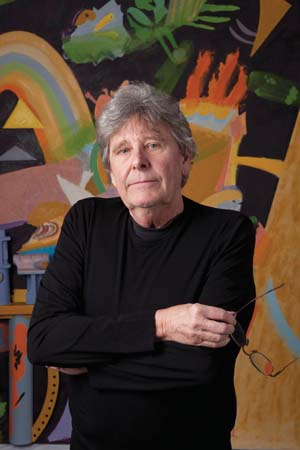 09 Colin Lanceley 1938 – 2015 by Barry Pearce image: Colin Lanceley; image courtesy Australian Galleries, Melbourne and Sydney; photo: Paul Green