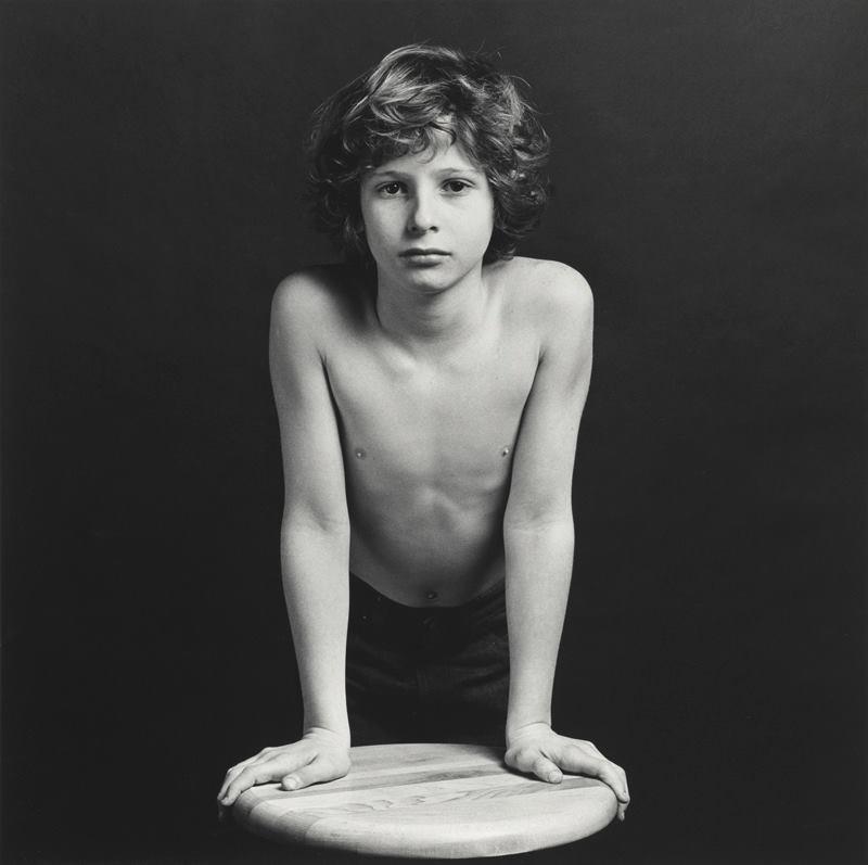 Robert Mapplethorpe, Sebastian, 1980, silver gelatin photograph, National Gallery of Australia, Canberra, purchased 1980