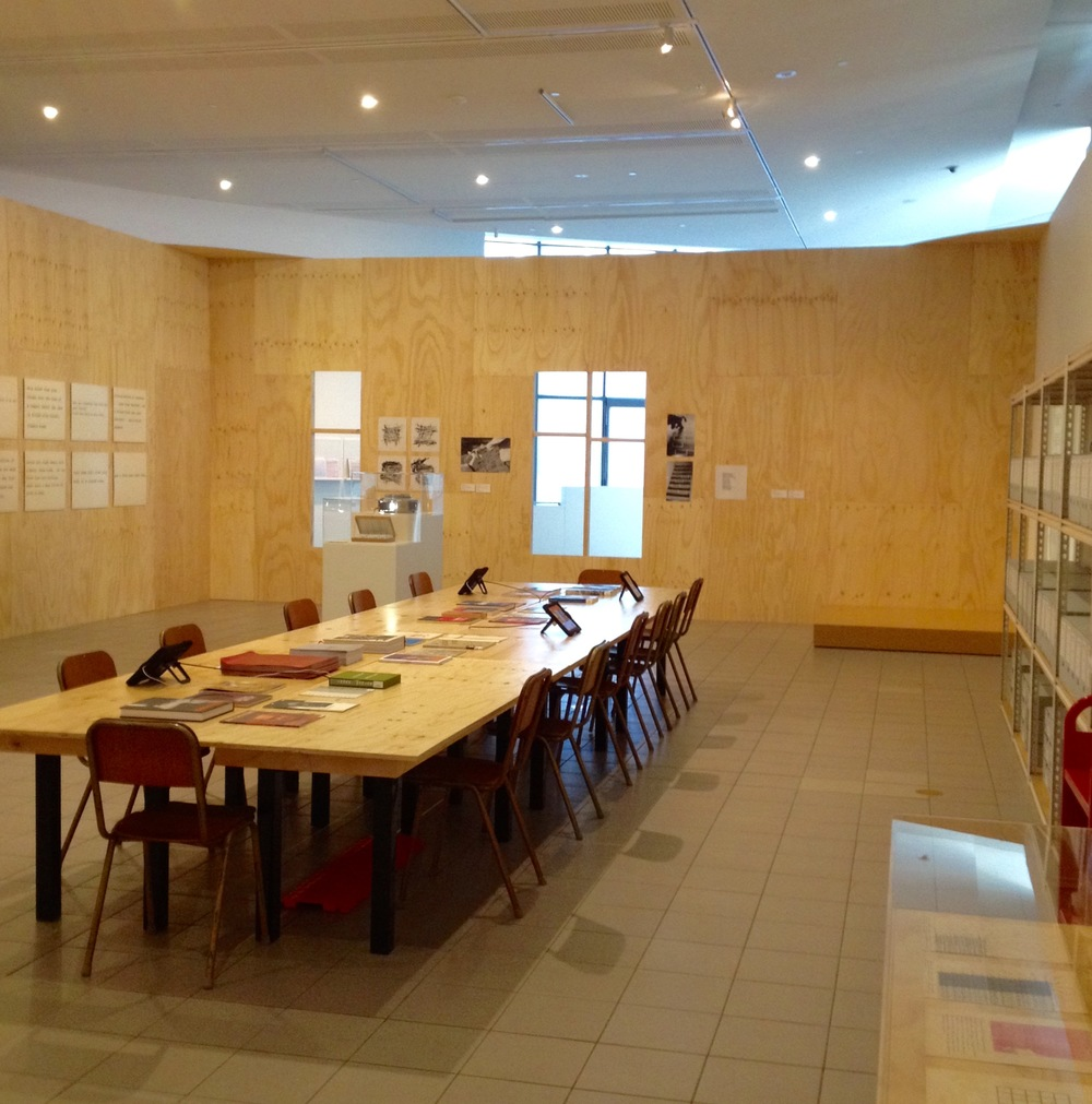 Information Centre is the site for early work as well as archival and reading material