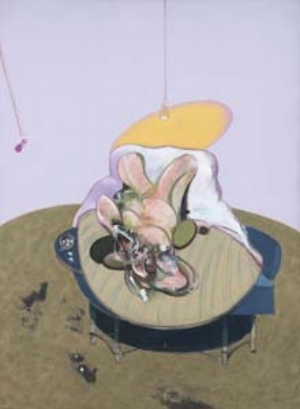 4 Lying Figure: Francis Bacon & the female nude MACUSHLA ROBINSON Francis Bacon, Lying figure, 1969, oil on canvas, 198 x 147.5cm; Foundation Beyeler, Riehen/Basel; ©The Estate of Francis Bacon; DACS/Licensed by Viscopy; showing in Francis Bacon: five decades, Art Gallery of NSW, Sydney, 17 November 2012 to 24 February 2013