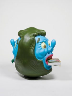 1a APT adulthood SASHA GRISHIN Uji Handoko Eko Saputro (aka Hahan), The New Prophet(from Trinity series), 2011, polyester resin and air brush, 100 x 75 x 100cm; Collection: Queensland Art Gallery; image courtesy the artist