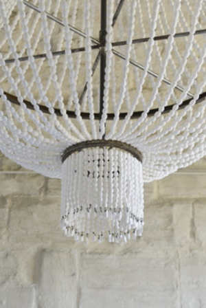 08 The butterfly effect: Ken + Julia Yonetani's 'Another dream (Un autre rêve)' - Gabriella Coslovich image: ken + Julia Yonetani, Grape Chandelier, 2011, installation detail, Abbaye de Maubuisson, Saint-Ouen-l'Aumône; Murray River salt, metal, 200 x 150cm (diameter); photo: Catherine Brossais; © Conseil général du Val d'Oise