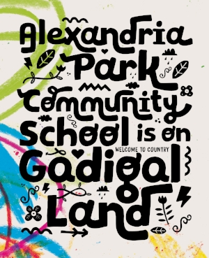 2 On 'Solid Ground': Tony Albert,  Sydney    Pages from the 2016 publication  Alexandria Park Community School is on Gadigal Land ; courtesy the artist and Boccalatte, Sydney; photo: David Collins  Alexandria Park Community School is on Gadigal Land  will be launched on 12 November 2016 as part of the Black Arts Market at Carriageworks, Sydney.