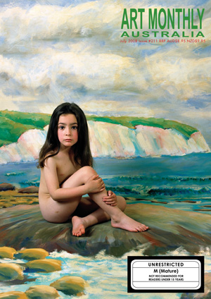 10 Letters   'Nude Girl Art Outrage' In the interest of facilitating some debate around the issue of children as subjects in art, AMA publishes some of the letters in response to both the controversy related to the July edition's cover image and the broader issue