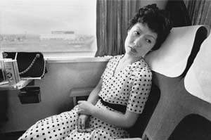 4 Shashinjinsei: Nobuyoshi Araki's photo journey MANAMI OKAZAKI Nobuyoshi Araki, from the Sentimental Journey series, 1971, black and white photograph. Courtesy the artist.