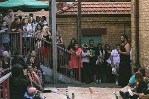 Siliga David Setoga leading the 'ava ceremony to mark Tautai's 30-year celebrations at Studio One Toi Tū, Auckland, March 2016; photo: Robert George