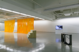8. A delicate balance: Sriwhana Spong and Maria Taniguchi at the ICA, Tai Mitsuji, Singapore Sriwhana Spong and Maria Taniguchi: Oceanic feeling, exhibition view, Institute of Contemporary Arts Singapore,LASALLE College of the Arts, 2016; photos: truphotos.com
