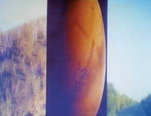 6 Aura: A twenty-first century tour of Lake George; altered relations in speed and its affect: ANN FINEGAN   John Conomos, Still from  Aura,  2003, video installation, 13 mins
