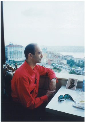9 In memoriam: Mutlu Cerkez 1964-2005: MICHAEL GRAF   Mutlu Cerkez 1964-2005. Photo courtesy of Rose Nolan