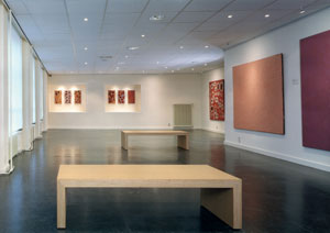10 Indigenous Australian art in Europe: Positioning the Aboriginal Art Museum, Utrecht by GEORGES PETITJEAN Interior view of the Aboriginal Art Museum, Utrecht, the Netherlands.
