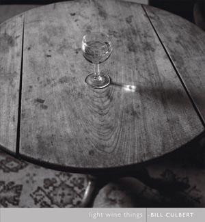 9 BOOK REVIEW: Bill Culbert, Light wine things by HELEN ENNIS dunedin Public Art Gallery, 2005 120 pp. RRP NZ $29.95.