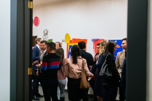 3 The Young ones: Finding Philanthropy, Rhianna Walcott, Sydney MCA Young Ambassadors at Tom Polo's Artspace Studio, Sydney, 16 May 2017; image courtesy the artist, Artspace, Sydney, and the Museum of Contemporary Art Australia, Sydney; Photo: Sam Whiteside