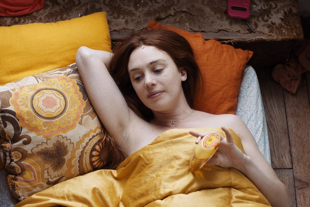 Laetitia Dosch in Léonor Serraille's  Montparnasse Bienvenüe (Jeune Femme) , 2017; image courtesy   Alliance Française French Film Festival