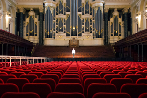 6 'PERMITTED TO EXIST': AKIRA TAKAYAMA'S  OUR SONGS - SYDNEY KABUKI PROJECT,  MAMI KATAOKA   Akira Takayama,Our Songs–Sydney Kabuki Project, 2018, video documentation of performances that took place at Sydney Town Hall on 28January 2018, 3.5 hours; filmmaker: Hikaru Fujii; commissioned by the Biennale of Sydney with support from the Neilson Foundation and assistance from Ishibashi Foundation, the Japan Foundation and the Australia-Japan Foundation of the Department of Foreign Affairs and Trade; images courtesy the artist;photos: Tai Spruyt