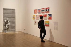 3 'Art turns. world turns': the first months at macan: julie ewington,  jakarta     Art Turns. World Turn  s , exhibition installation view, Museum MACAN, Jakarta; image courtesy Museum MACAN, Jakarta