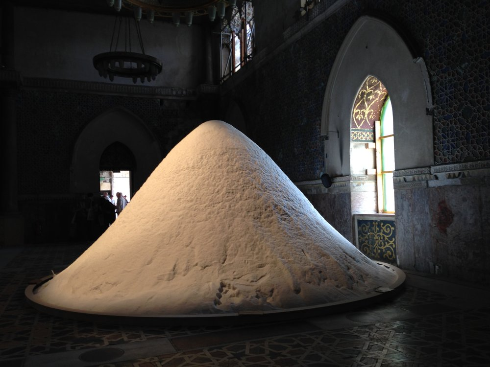 Patricia Kaersenhout,  The Soul of Salt , 2016, installation view, Palazzo Forcella De Seta, Palermo, June 2018; photo: En Young Ahn