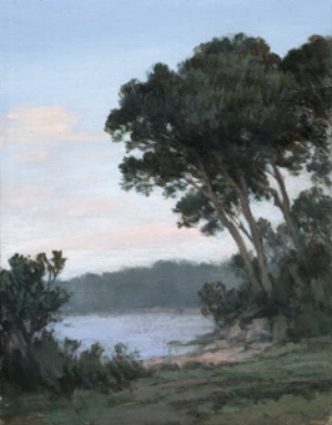 8 Michelle Hiscock: Paintings: JAN JONES   Michelle Hiscock,  Taylors Point , 2007, oil on panel, 16 x 12cm
