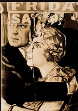 13 American Dreams: a terrible beauty: MEGAN SPENCER   Walker Evans,  Torn Poster , Truro, Massachusetts,1930, gelatin silver contact print. Purchased with funds from National Endowment for the Arts