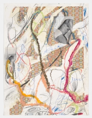1 Dispatches: Andrew Stephens   Peter Maloney,  Untitled , c. 1995, collage and mixed media on paper, 72.6 x 54.8cm, Australian National University Art Collection, Canberra