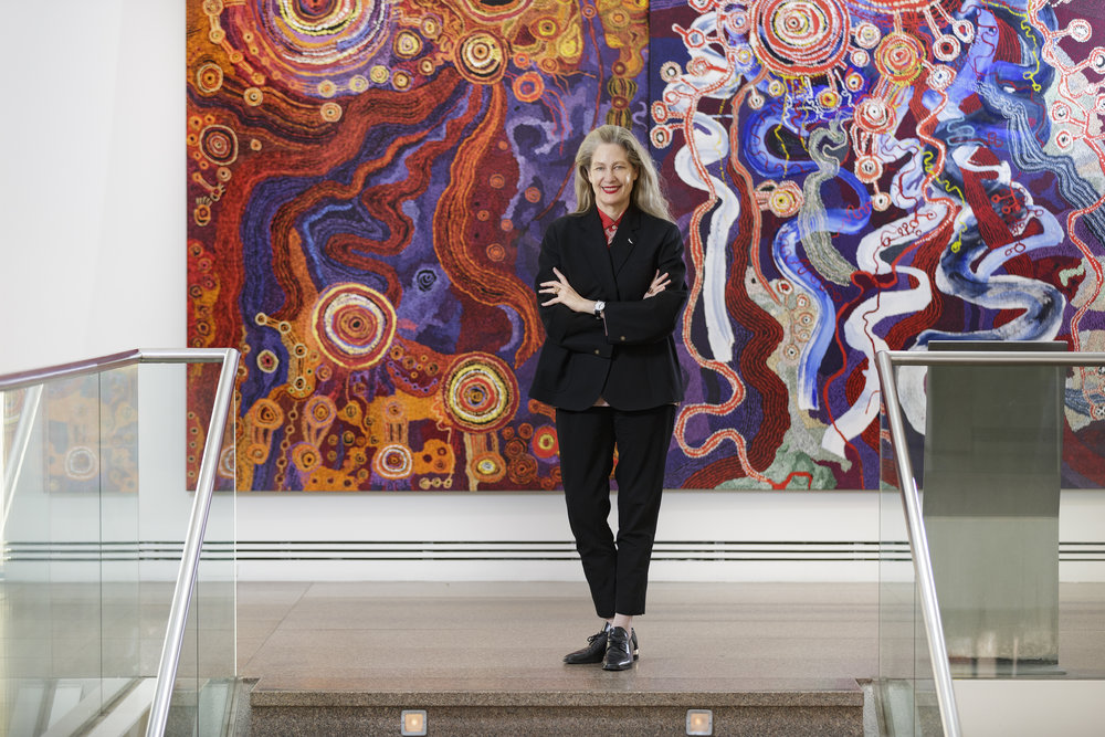 1 Dispatches: andrew stephens   Rhana Devenport, 2018; image courtesy the Art Gallery of South Australia, Adelaide; photo: Saul Steed