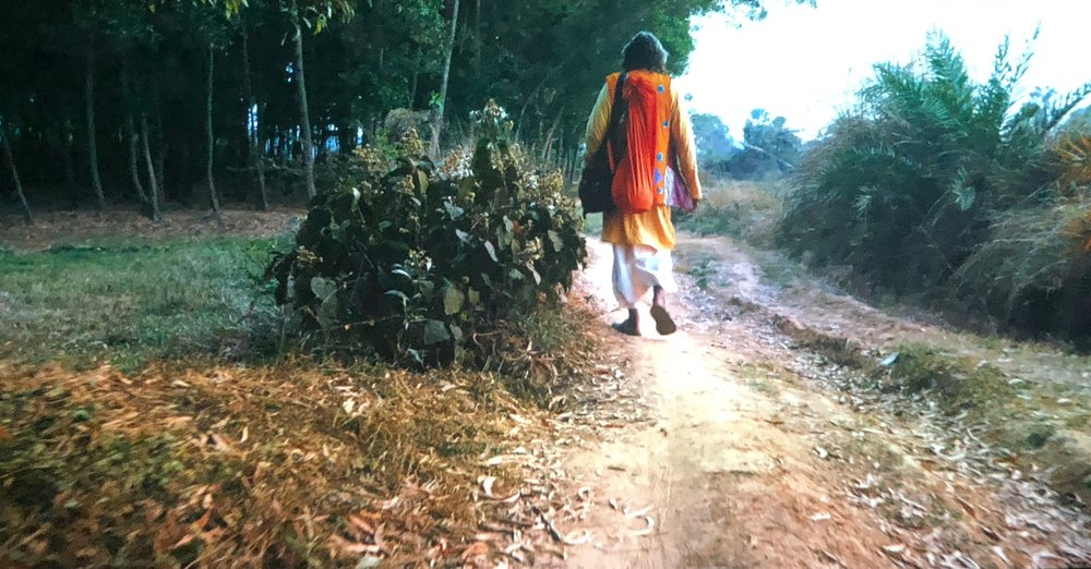 3 Beyond the margins; the 4th kochi-muziris biennale; lleah smith,  kochi    The Otolith Group,  O Horizon , 2018, still; 81mins 10 secs, 4K, colour; commissioned by bauhaus imaginista and co-produced with the Rubin Museum and the support of Project 88; photo: Lleah Smith