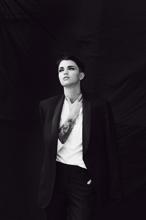 Ruby rose interview guy lowndes photography