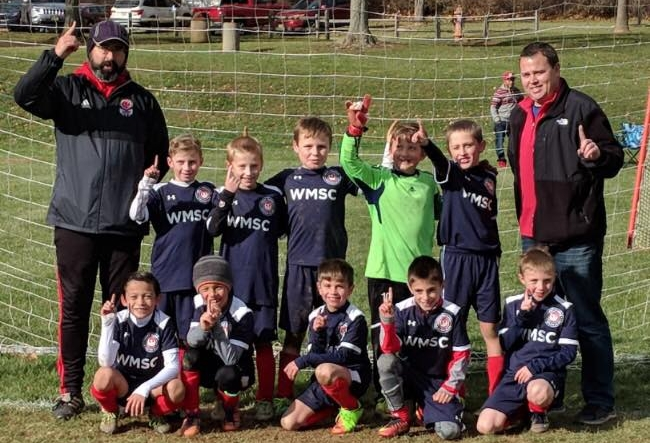 Our WMSC Phoenix 09 Boys Premier team won the MCYSA Flight 1 Championship this past Fall with a team full of Junior Academy graduates!