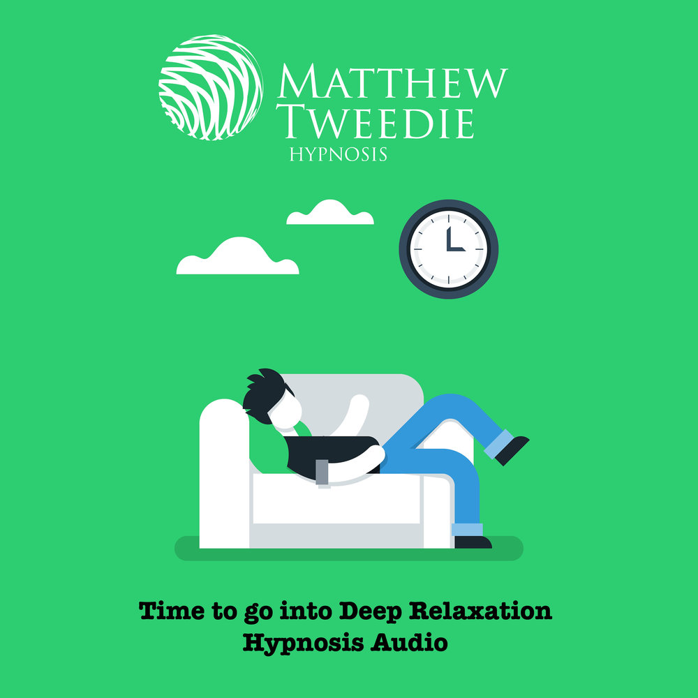 Time to go into deep relaxation- Hypnosis audio album cover.jpg