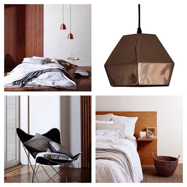 Copper love. Our Kupari copper pendant light and style inspo by @lmhome_ #copperlove #homedecor #copperlamp #pendantlight #interiordecor #interiordesign #scandidecor #bedroom #lighting #hanginglights #valo_design #styleinspiration #stylist
