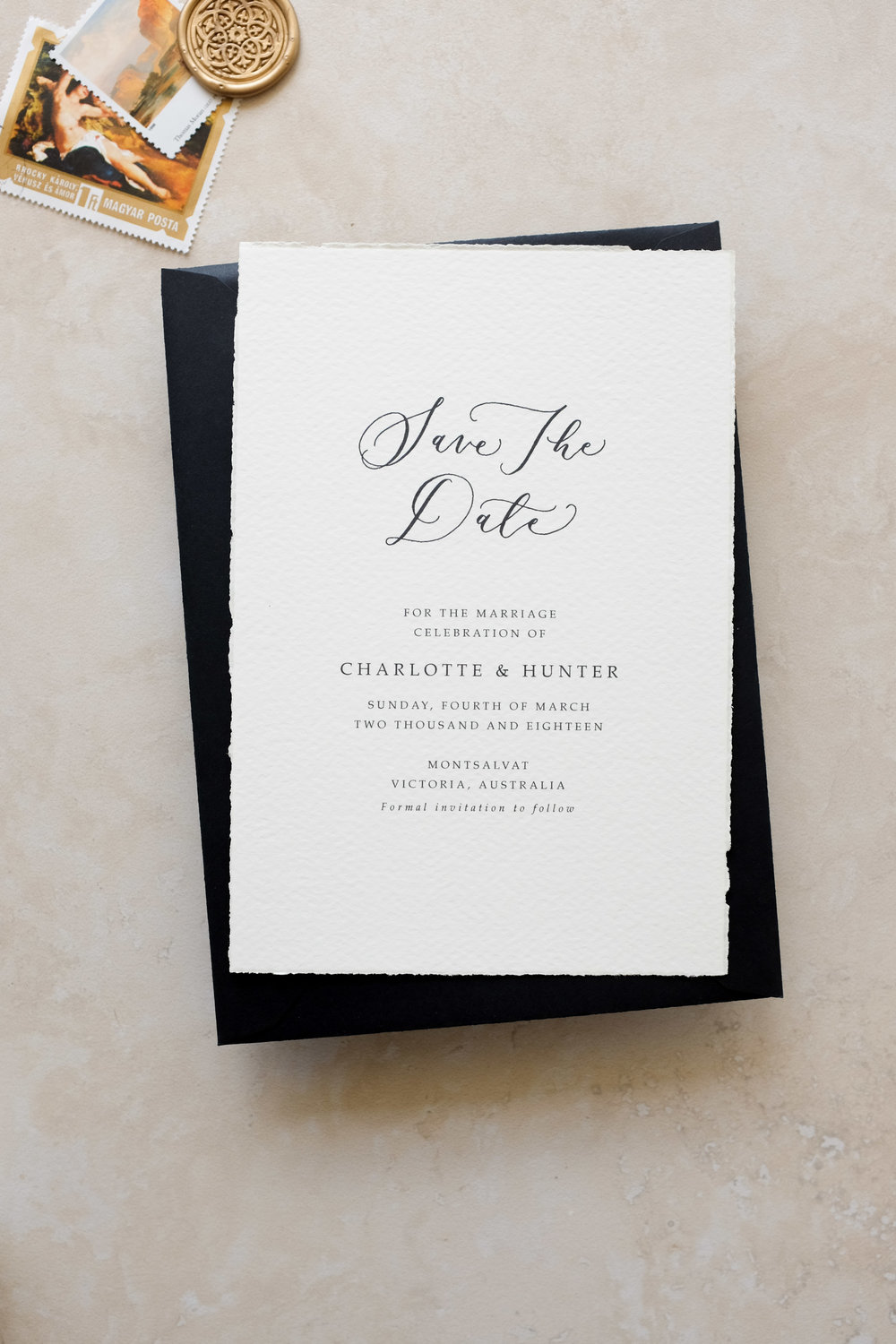 Aureate Save the Date Suite  From $460.00 nzd