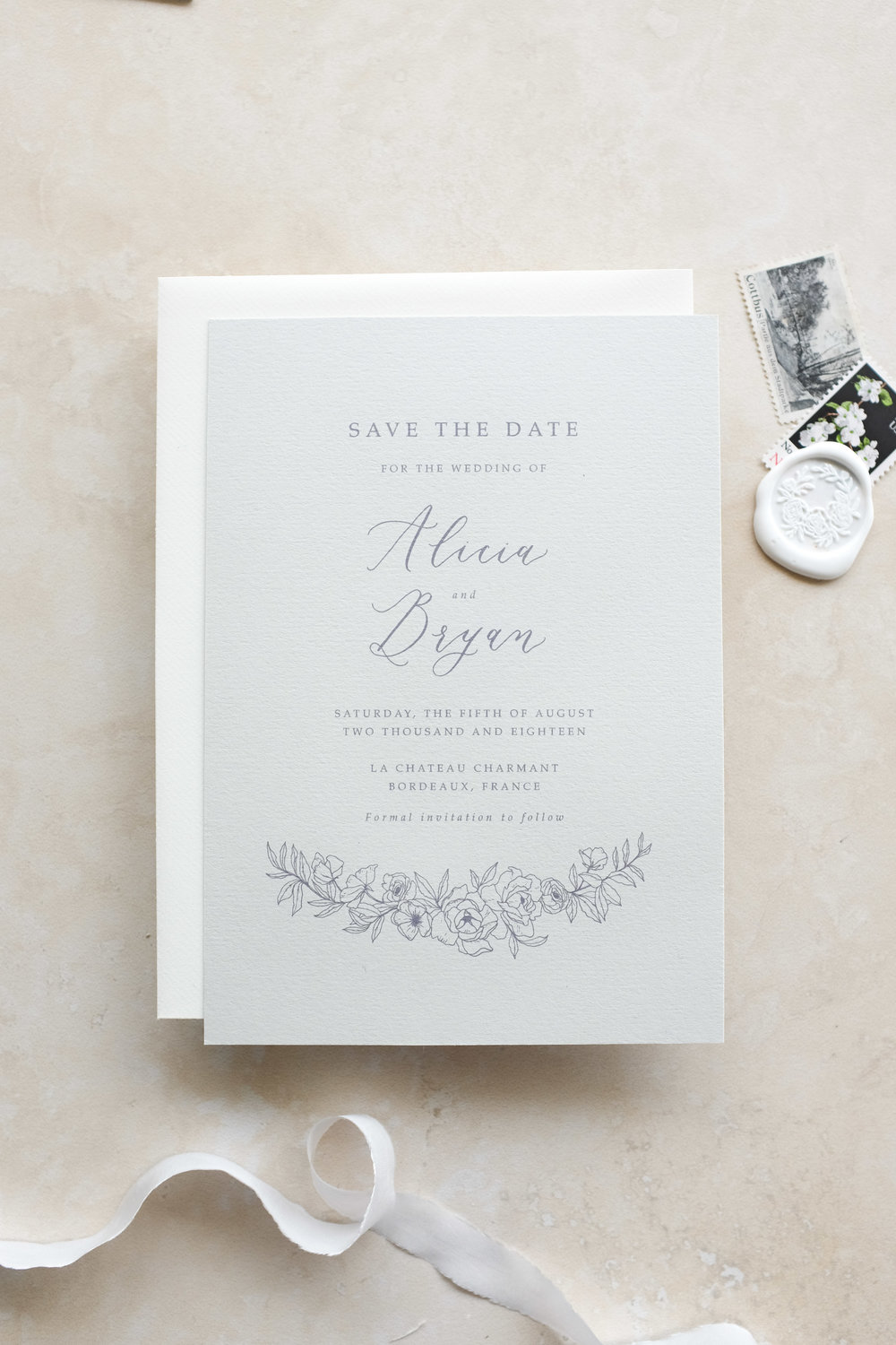 In Bloom Save The Date Suite From $480.00 nzd