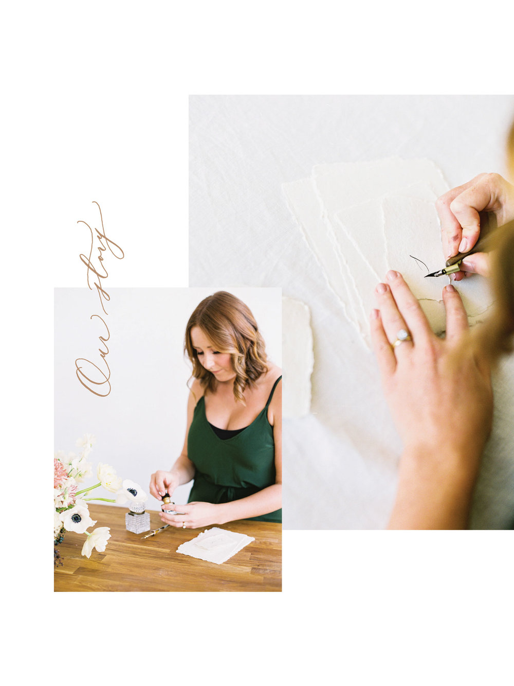 Michaela McBride Calligraphy Our Story.jpg