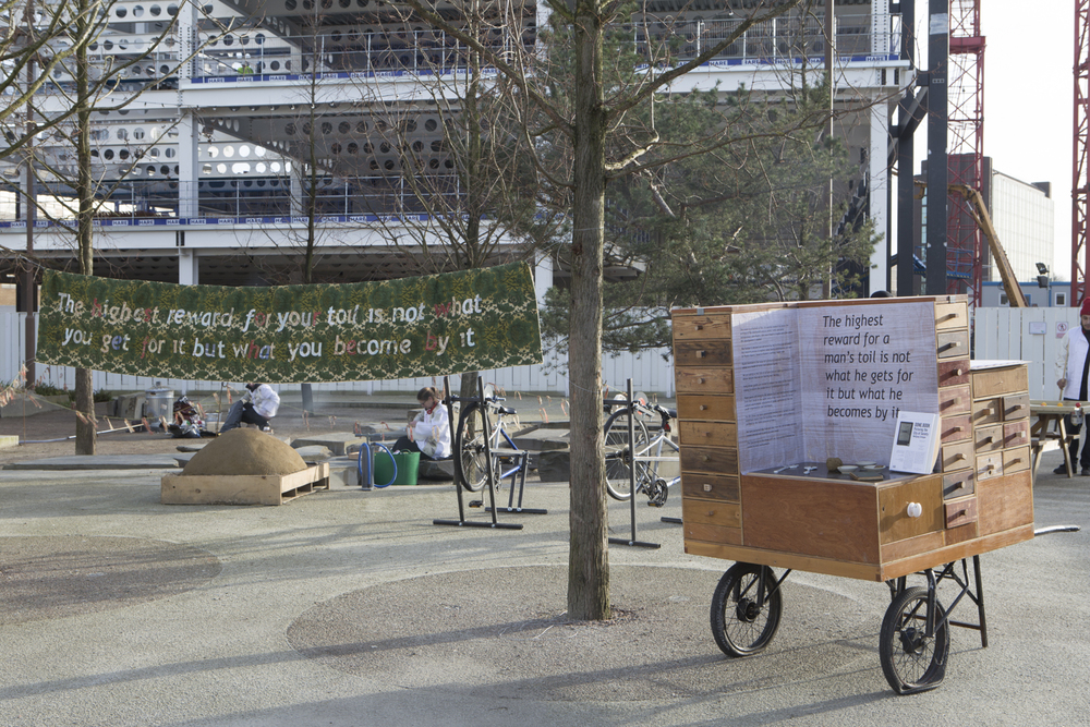 muf architecture/art, Ruskin Square, London