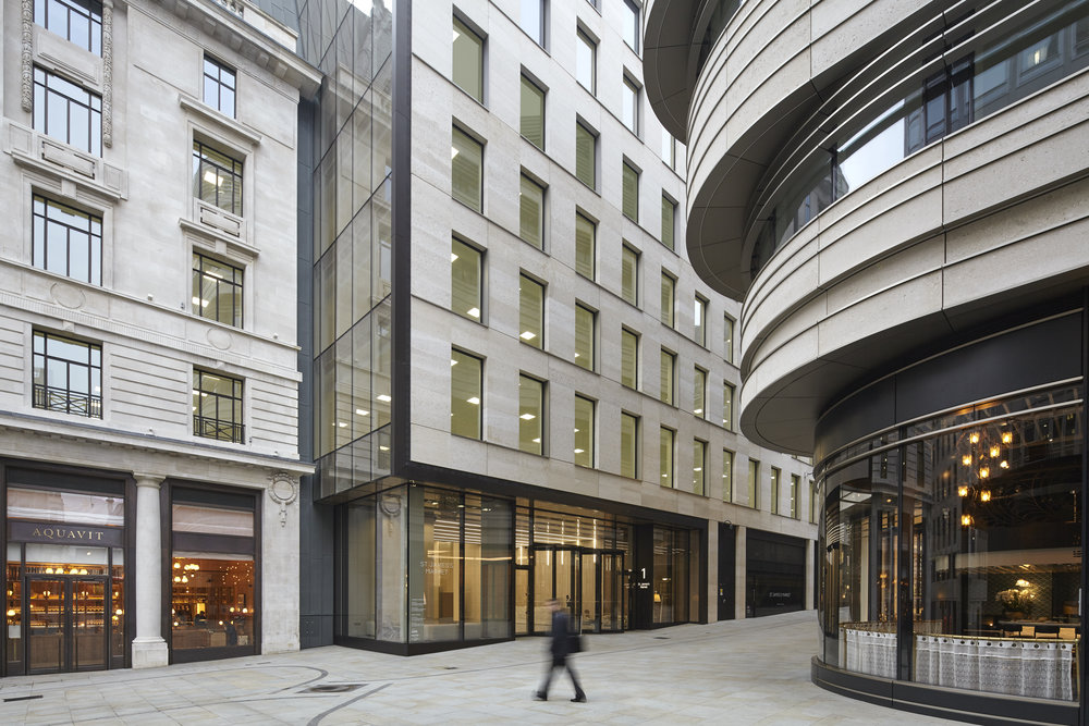 St James's Market - Make Architects