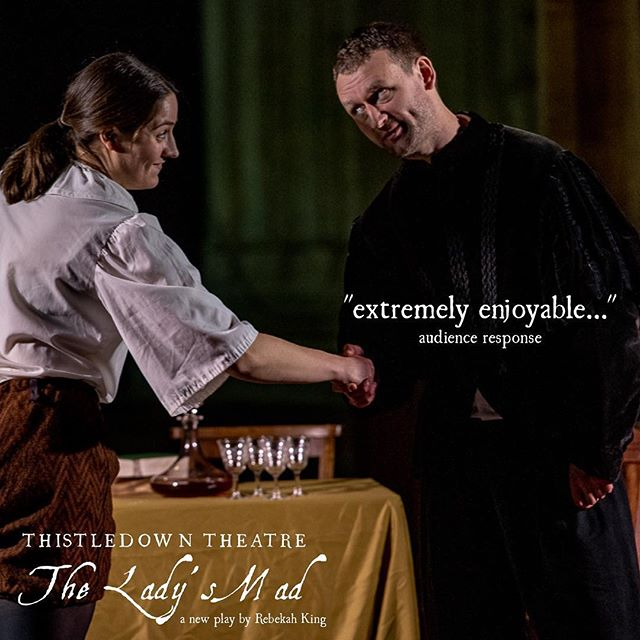 See our final performance of 'The Lady's Mad' on Saturday 15th December @somervillecollegeox at 7:30pm! thistledowntheatre.com/tickets #newwriting #englishcivilwar #womeninhistory #theladysmad #forgottenwomen #oxford #oxfordcollege #gettickets #dontmissout #theatre #create #womenwriters #chapel #parlimentarian #royalist #wheredoyourloyaltieslie