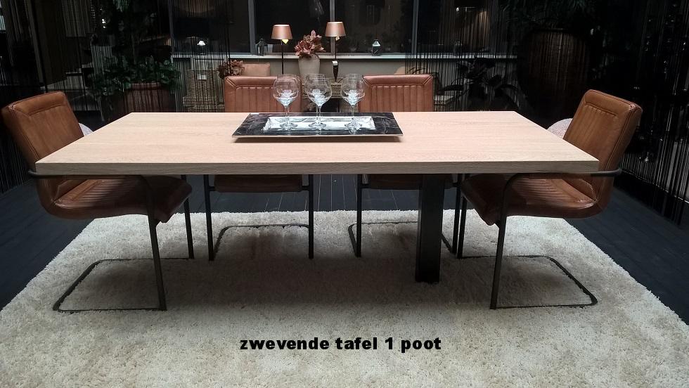 tafel op 1 poot